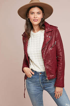 Lamarque Kyoshi Leather Jacket