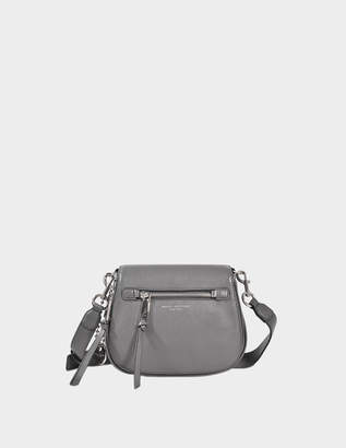 Marc Jacobs Recruit Small Saddle Bag in Shadow Cow Leather