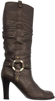 Bally Leather riding boots