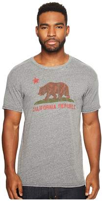 Original Retro Brand The Vintage California Republic Short Sleeve Tri-Blend T-Shirt Men's T Shirt