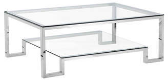 One Kings Lane Laurence Coffee Table - Silver