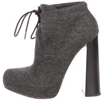 Alexander Wang Constance Wool Ankle Boots