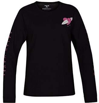 Hurley Women's Graphic Long Sleeve T Shirt