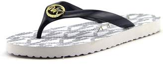 MICHAEL Michael Kors Womens MK Flip Flops Open Toe Casual