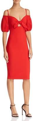 Nookie Belle Cold-Shoulder Dress