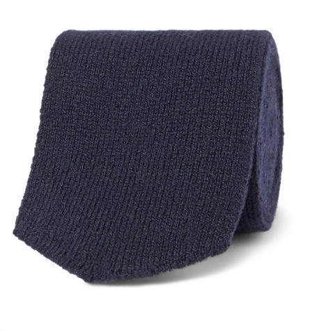 Richard James 7cm Knitted Cashmere Tie