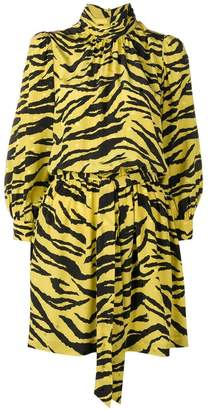 Zadig & Voltaire Zadig&Voltaire Fashion Show tiger print dress