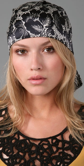 Eugenia Kim Gigi Lace Head Scarf