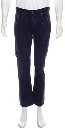 Rag & Bone Flat Front Relaxed-Fit Pants
