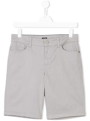 Emporio Armani Kids denim shorts