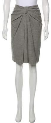 Les Copains Virgin Wool Knee-Length Skirt