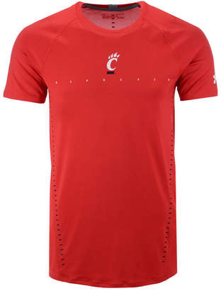 Under Armour Men's Cincinnati Bearcats Short Sleeve Raid Training T-Shirt