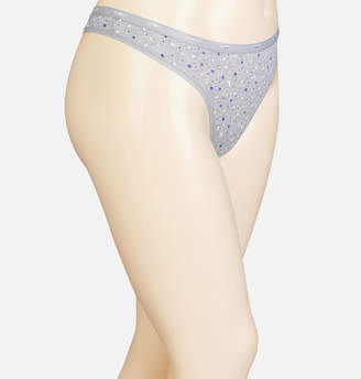Avenue Moon and Stars Cotton Thong Panty