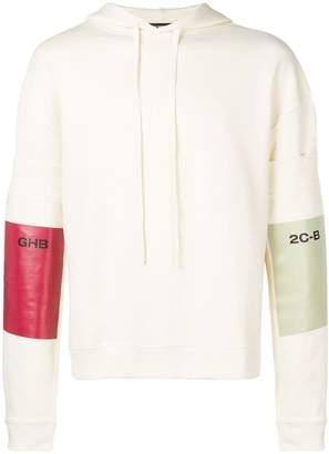 Raf Simons colour-block hoodie