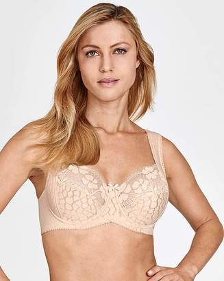 Miss Mary Of Sweden Miss Mary Jacquard and Lace Wired Bra