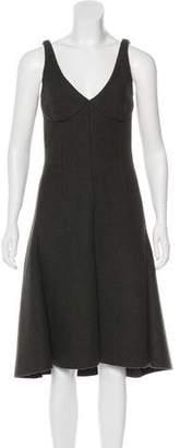Celine Wool Midi Dress w/ Tags
