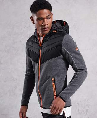 Superdry Gym Tech Chevron Hybrid Jacket