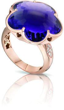 Pasquale Bruni Bon Ton 18k Rose Gold Amethyst Ring w/ Diamonds