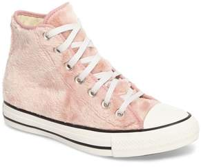 Converse Chuck Taylor(R) All Star(R) Faux Fur High Top Sneakers