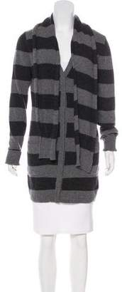 Dolce & Gabbana Wool Striped Cardigan w/ Tags
