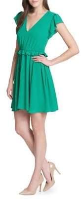 Kensie Dresses Ruffle Fit-&-Flare Dress