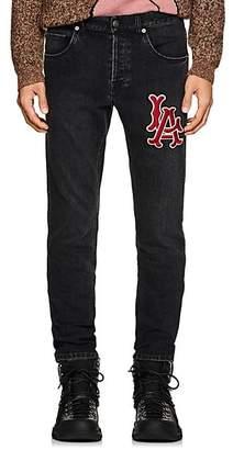 Gucci Men's LA AngelsTM Slim Jeans - Black