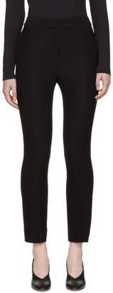 Wendelborn Black Flare Cigarette Trousers