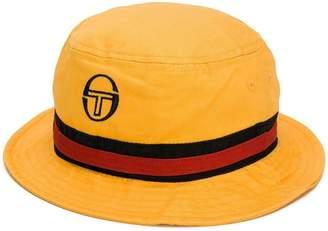 Sergio Tacchini logo embroidered fisherman's hat