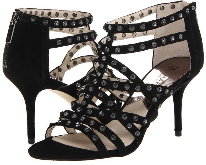 MICHAEL Michael Kors Maddie Jeweled T Strap