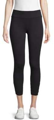 Beyond Yoga Ruched Cropped Leggings