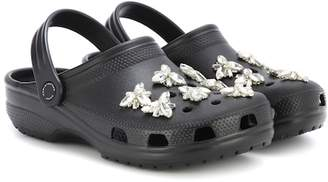 Christopher Kane Crystal-embellished Crocs