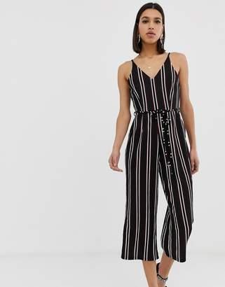 a556a618c8 Black Stripe Jumpsuit - ShopStyle UK