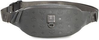 MCM Fursten Visetos Leather Belt Bag