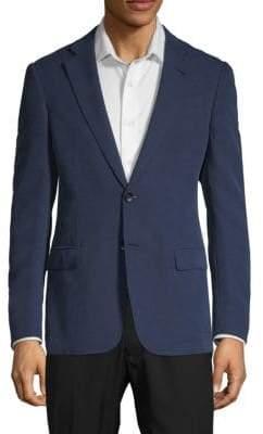Giorgio Armani Textured Suit Jacket