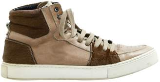 Saint Laurent Leather high trainers
