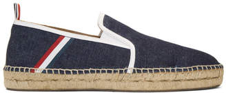 Thom Browne Blue Denim Espadrilles