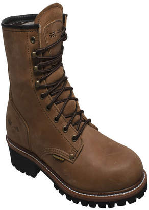 "AdTec Men 9"" Water Resistant Logger Boot Men Shoes"