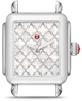 Michele Deco Watch Head, 33mm x 35mm