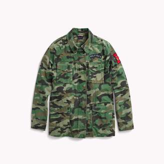 Tommy Hilfiger Camo Field Jacket