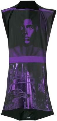 Raf Simons printed sleeveless T-shirt