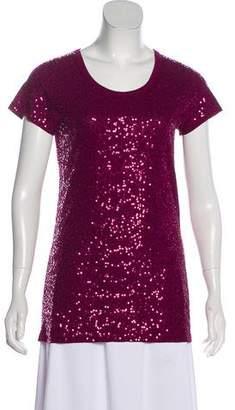 DKNY Embellished Short Sleeve T-Shirt