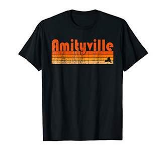 Retro 80s Style Amityville NY T-Shirt