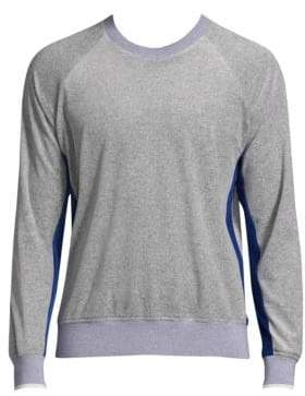 3.1 Phillip Lim Velour Colorblock Sweatshirt