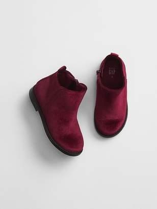 Gap Velvet Ankle Boots
