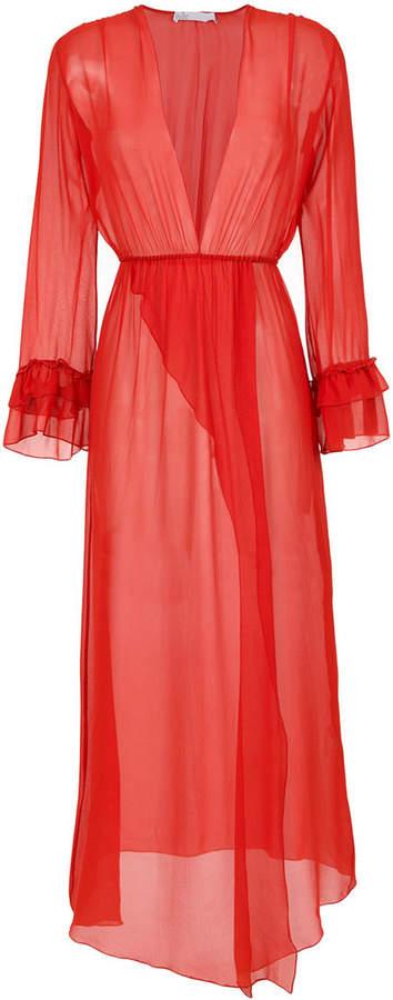 Nk sheer silk dress