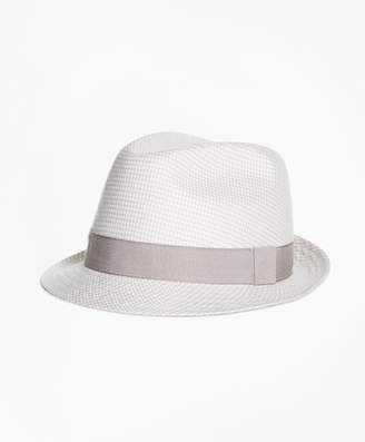 Brooks Brothers Linen Block Hat