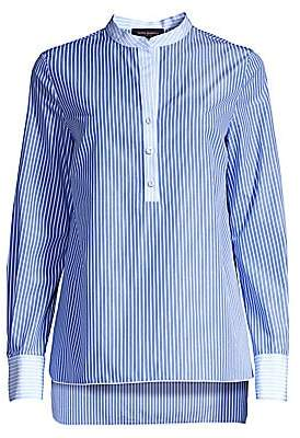 3966e2e9e4 Piazza Sempione Women's Striped Tunic Blouse
