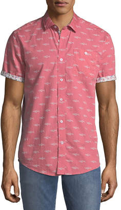 Report Collection Men's Short-Sleeve Oxford Shirt