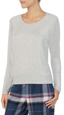 DKNY Long Raglan Sleeve Pyjama Top