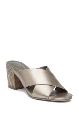 Kenneth Cole Reaction Mass Way Strappy Block Heel Sandal